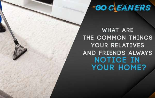 What are the common things your relatives and friends always notice in your home?