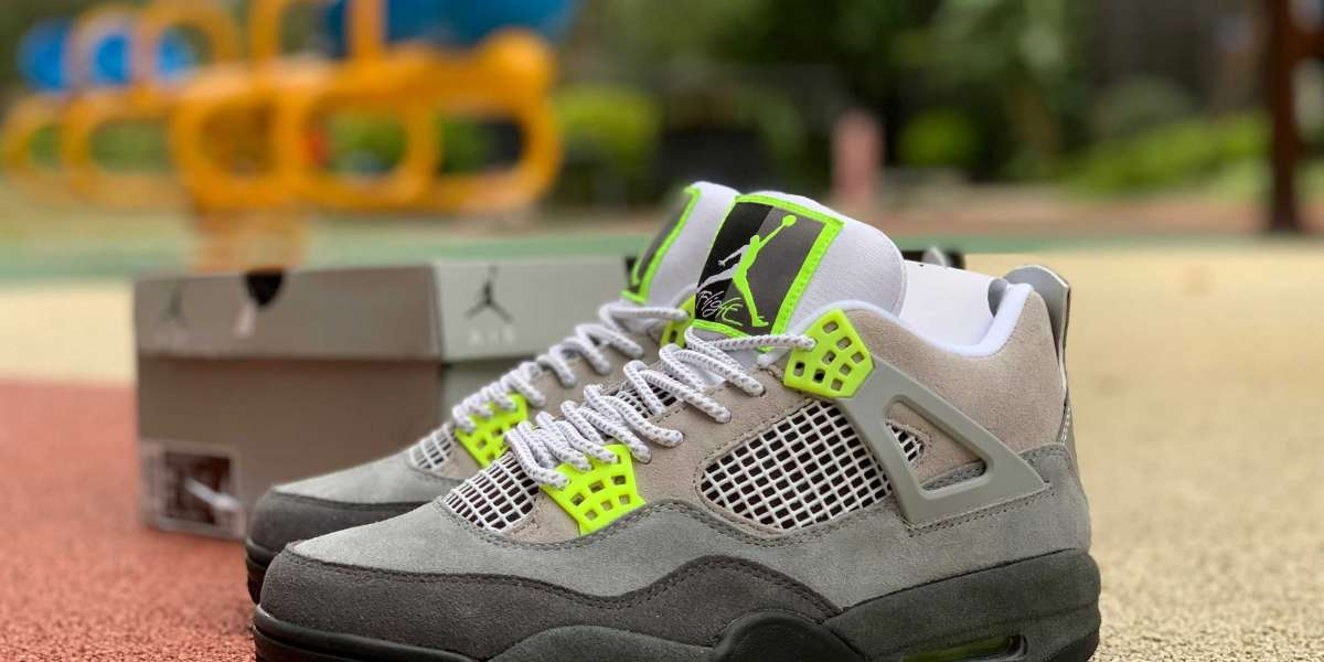 "2020 New Air Jordan 4s Retro SE ""Neon"" High Quality CT5342-007 Online"