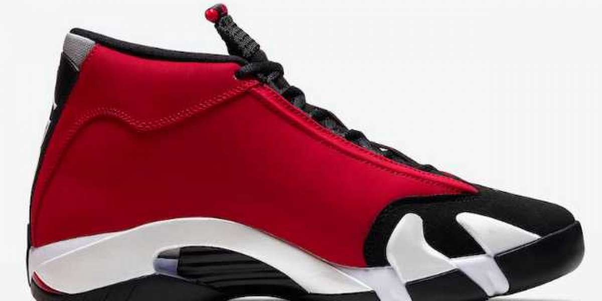 "Air Jordan 14 ""Gym Red"" Black/Gym Red-White-Off White 2020 487471-006 For Sale Online"
