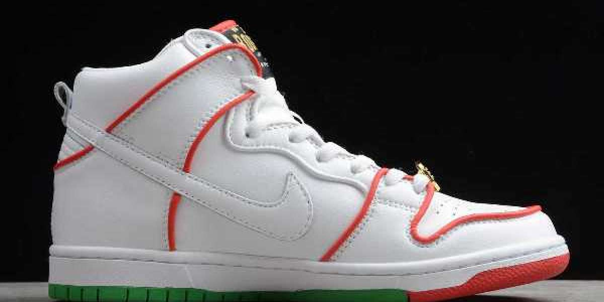 """Paul Rodriguez x Nike SB Dunk High """"Mexican Boxing"""" 2020 CT6680-100 For Sale Online"""