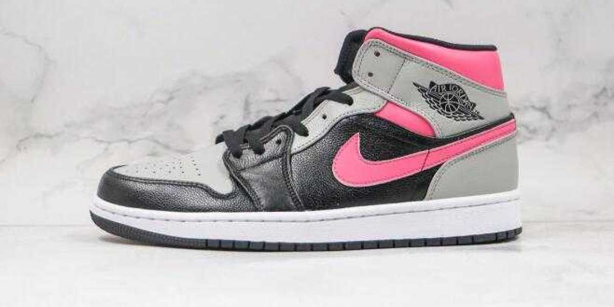 2020 Air Jordan 1 Mid Pink Shadow is Available Now