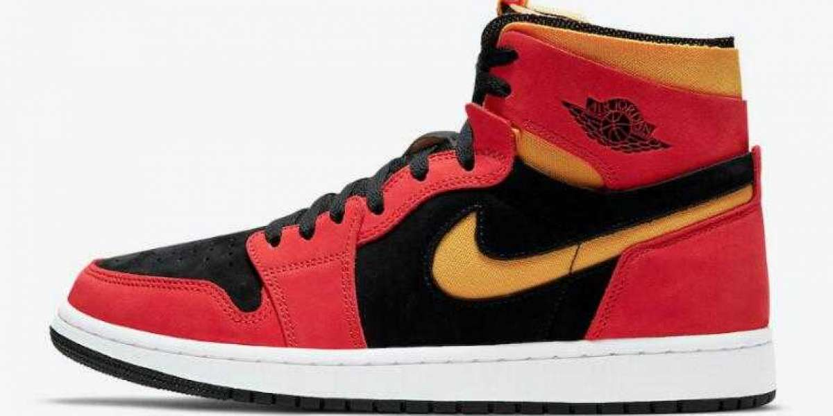 Buy Discount CT0978-006 Air Jordan 1 Zoom Comfort Chile Red Shoes
