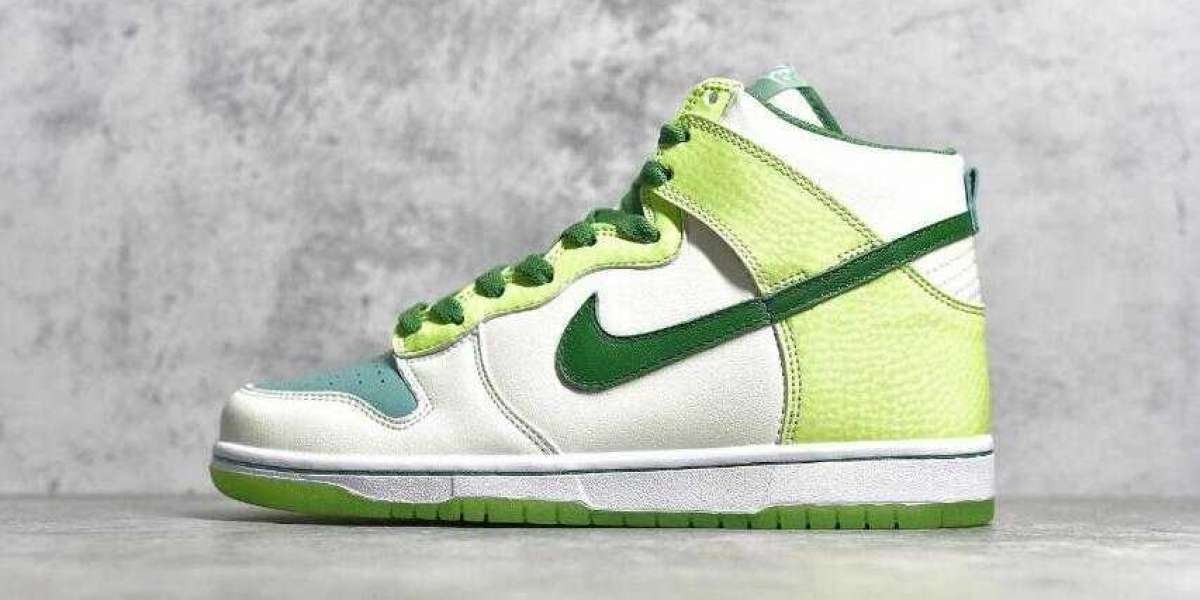 New Sale Nike SB Dunk High Premium Glow In The Dark for 2020 Chrismas