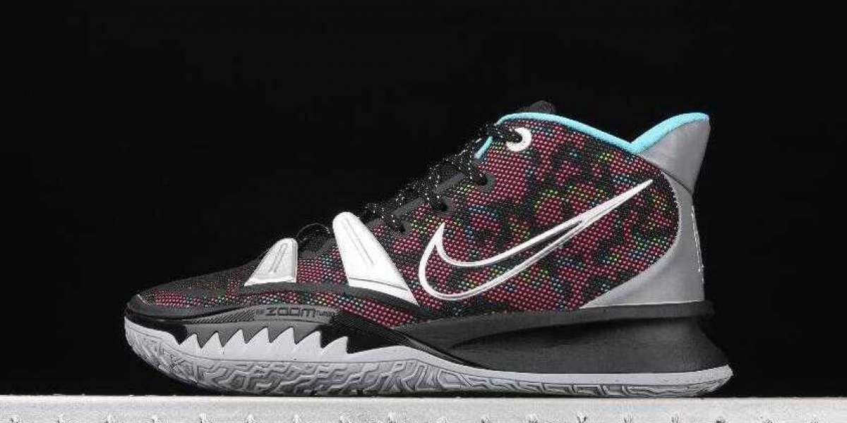 Shop Nike Kyrie 7 EP CT4080-008 Black Silver Pink with Special Offer