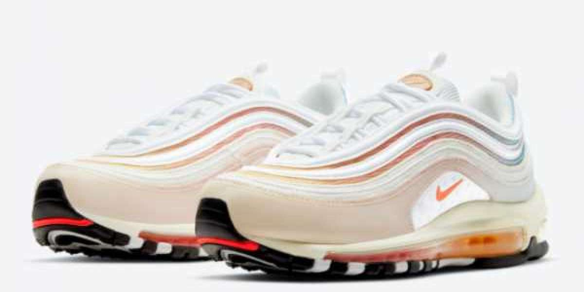 2021 Undefeated x Nike Air Max 97 Sail/White-Aero Blue-Midwest Gold DC4830-100
