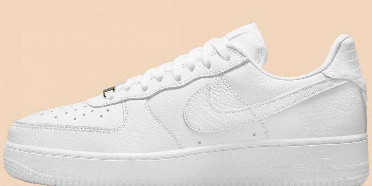 2021 Latest Nike Air Force 1 Craft Updates With Snakeskin Releasing Soon
