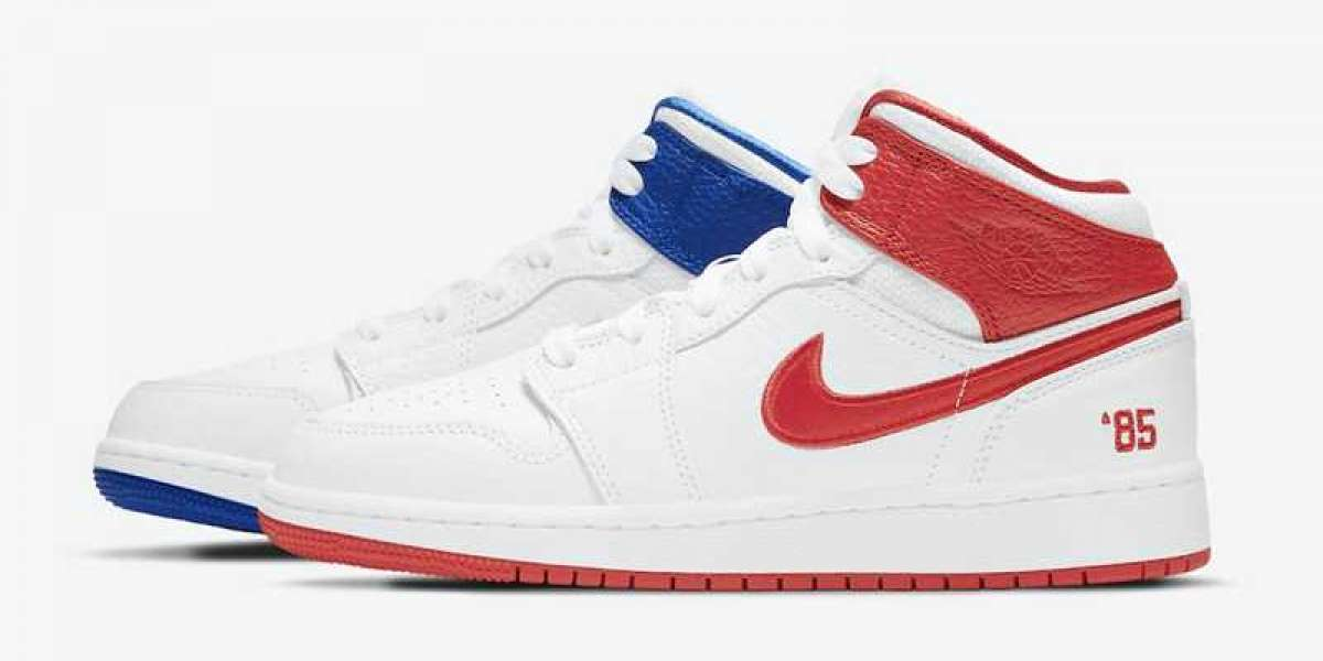 "Air Jordan 1 Mid ""85"" 2021 New Arrival DH0200-100"