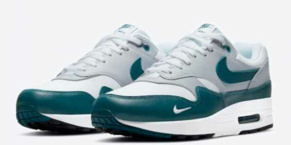 """When Will The Nike Air Max 1 """"Dark Teal Green"""" DH4059-101 Be Released ?"""