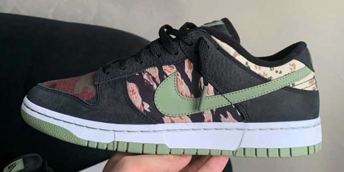 "DH0957-001 Nike Dunk Low SE ""Oil Green"" will be on sale soon"