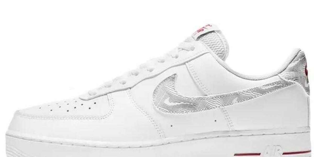 Online Sale Nike Air Force 1 Low Topology White Blue Sport Running Shoes