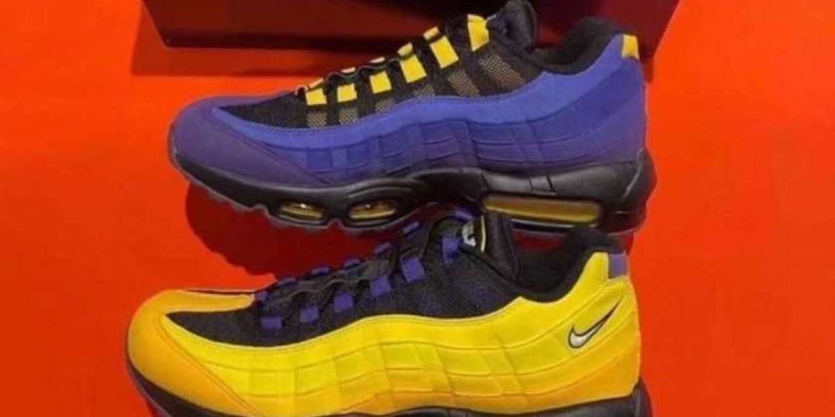 """The Nike Air Max 95 NRG """"LeBron"""" CZ3624-001 will be officially released on March 30"""