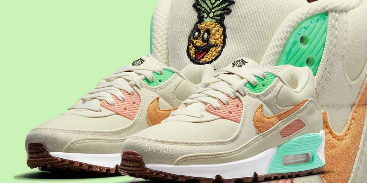 "Where To Buy Nike Air Max 90"" Happy Pineapple"" DM3054-100 ?"