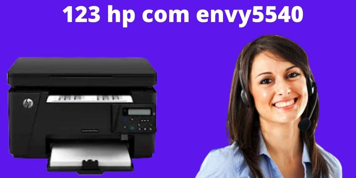 Explain the step-by-step instructions of 123 HP Envy 5540 Printers