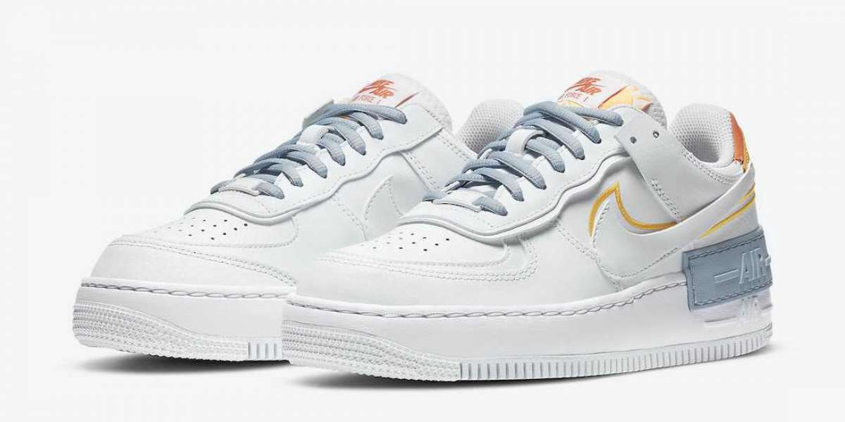 """Hot Sale Nike Air Force 1 Shadow """"Be Kind"""" Online DC2199-100"""