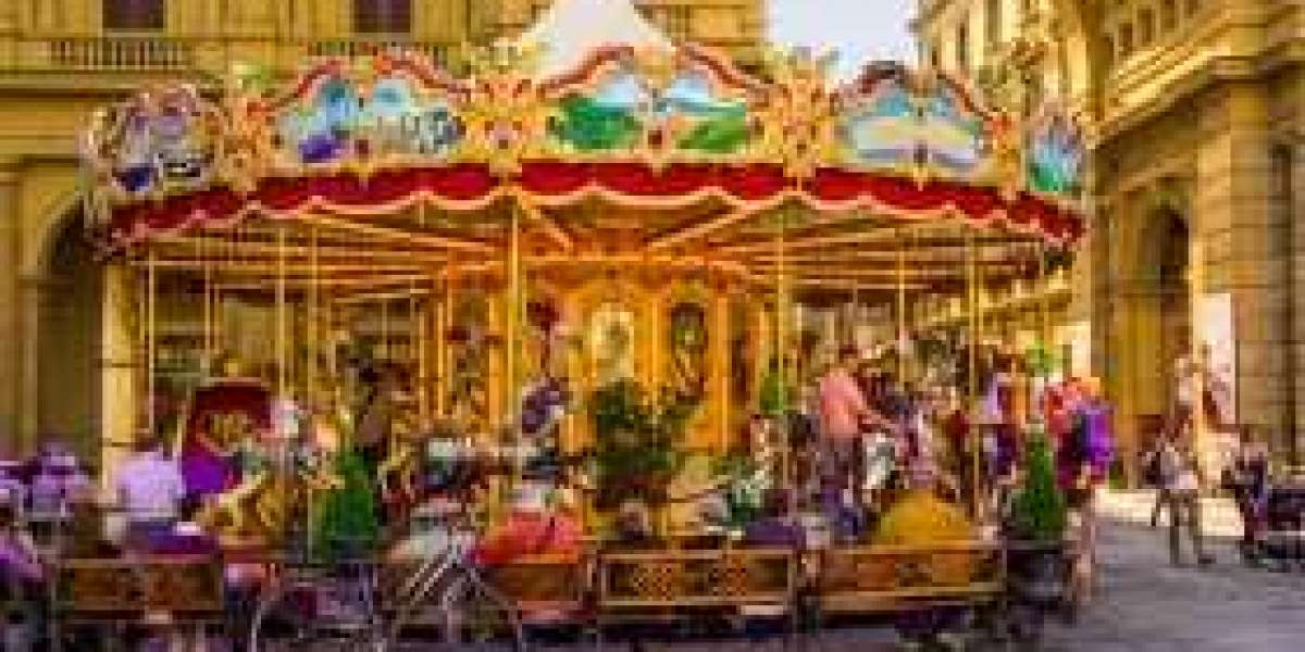Merry Go Rounds And Carousel Carnival Rides Today And Yesteryear