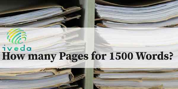 How many Pages for 1500 Words | 1500 Words How many Pages
