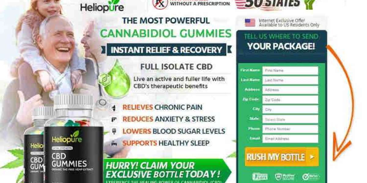 HelioPure CBD Gummies – Read Reviews And Cost!