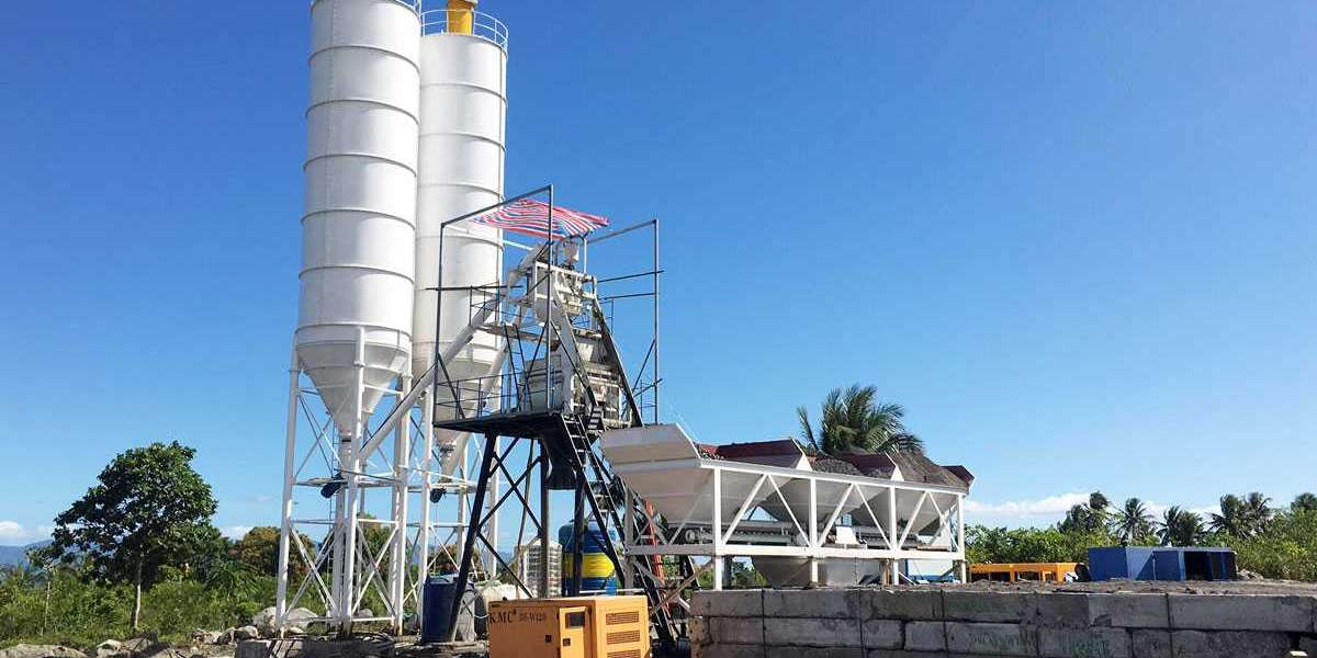 Types of Concrete Batching Plants to think about in UAE