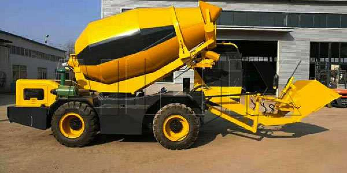 Which Are The Advantages Of A Mobile Self-Loading Concrete Mixer?