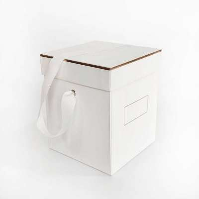 White Deluxe Gift Boxes Profile Picture