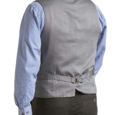 SPENCER - MEN'S TRACHTEN LODEN VEST WITH SUEDE COLLAR Profile Picture
