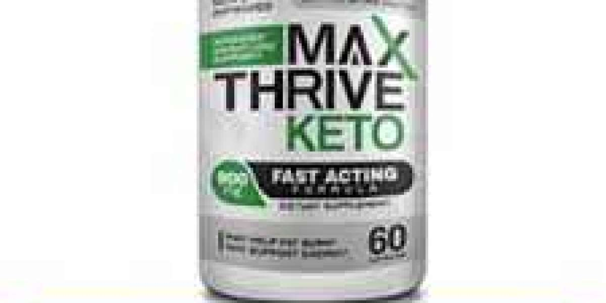 Max Thrive Keto Review - Ketogenic Formula Kills Your Belly Fat Quickly !
