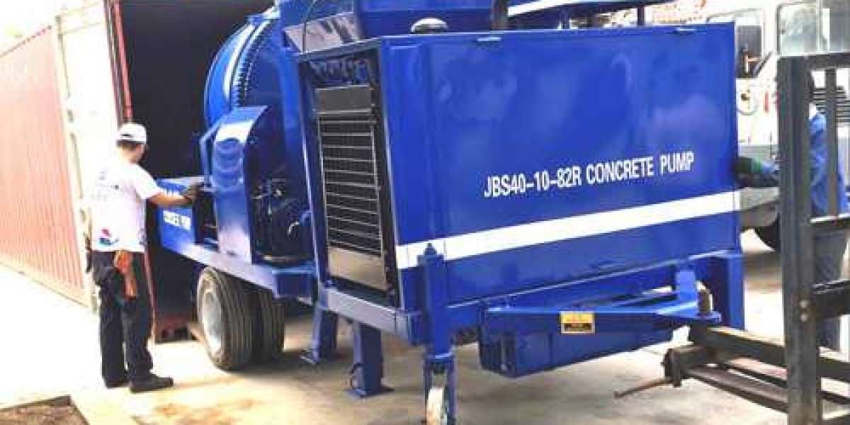 Four merits of using a concrete mixer pump for your project
